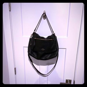 Large Black Kate Spade Crossbody bag